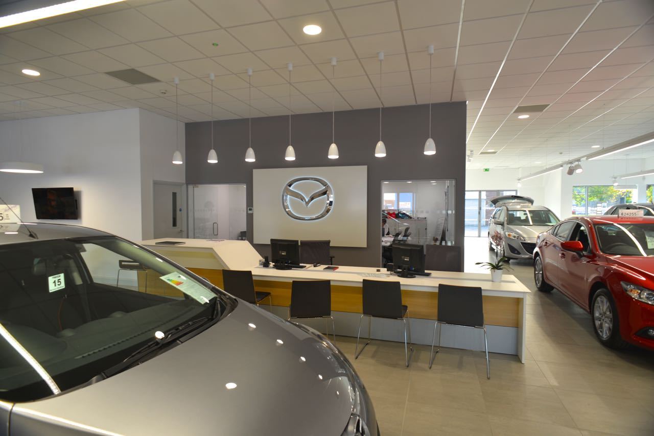 image of stock editorial copy dealership mazda germany locations space