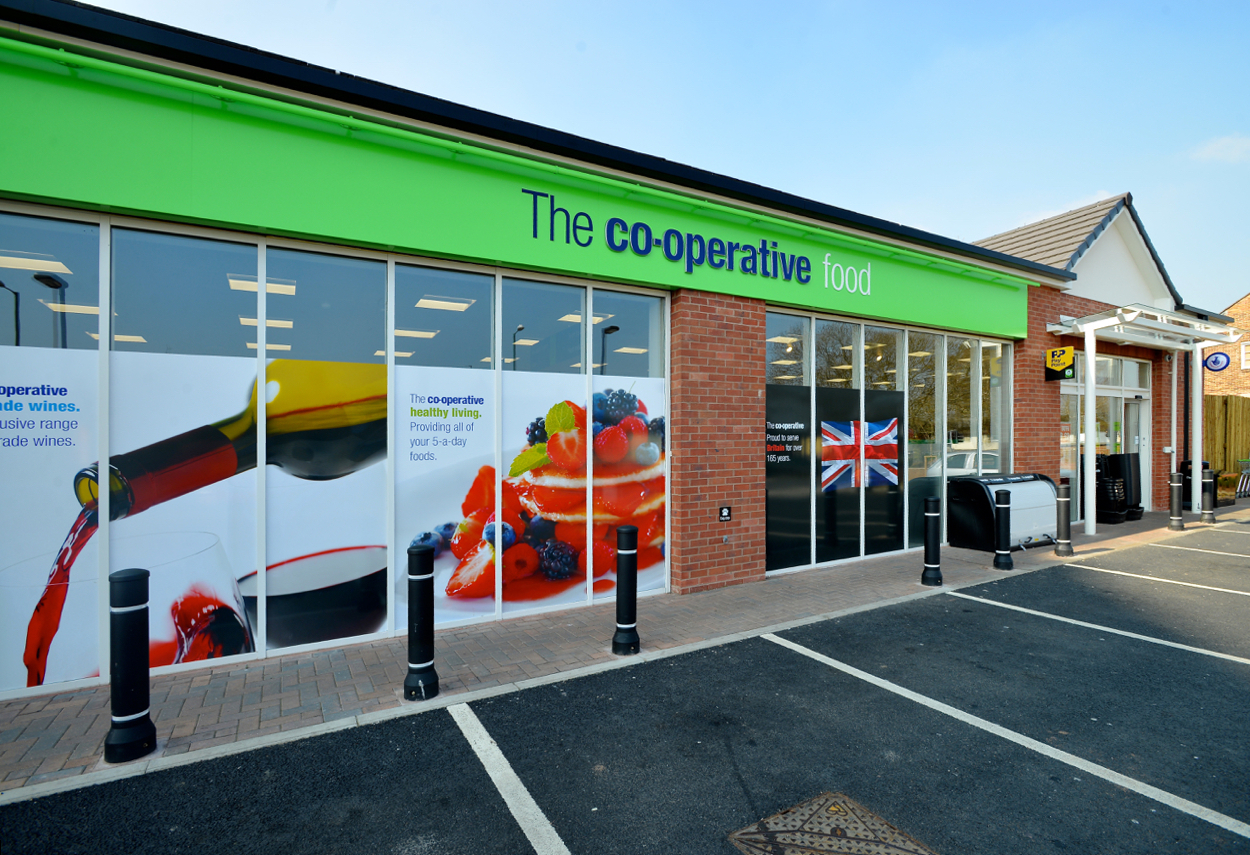 Co op food store nottingham for midlands co operative for Cuisine store